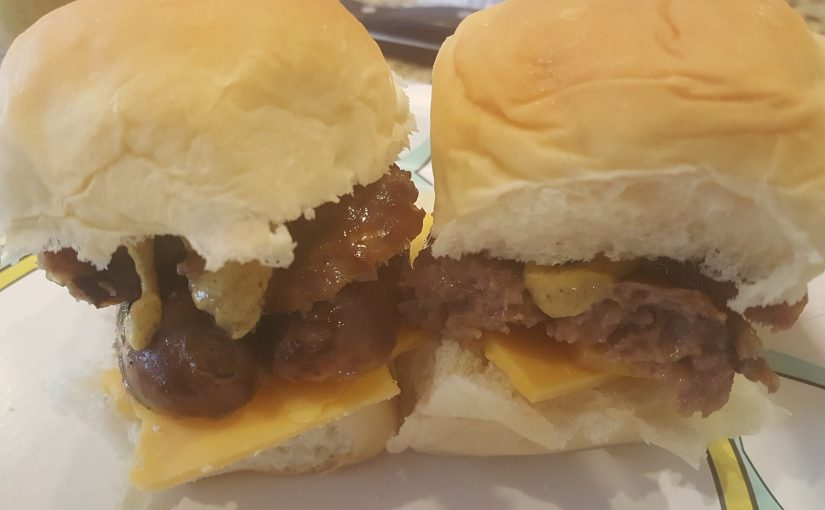 Beer Brat Sliders