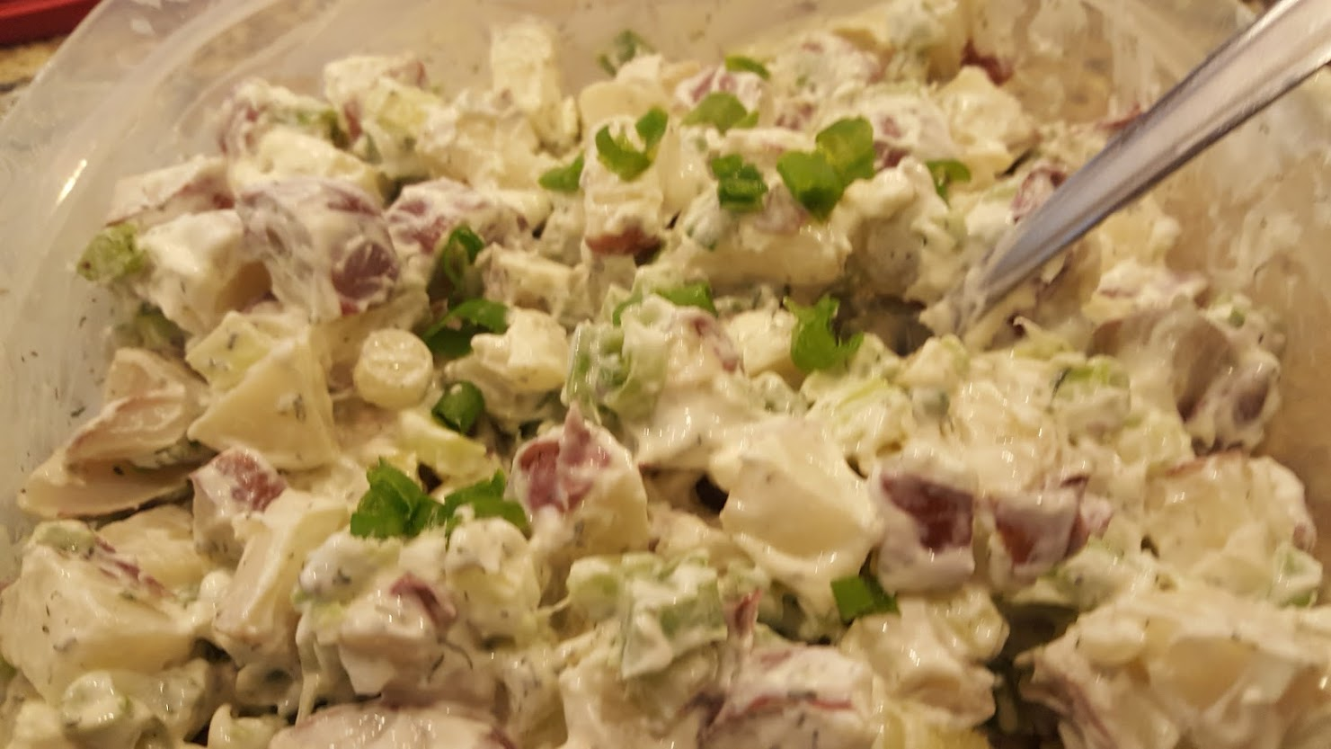 Potato Salad With Sour Cream And Dill