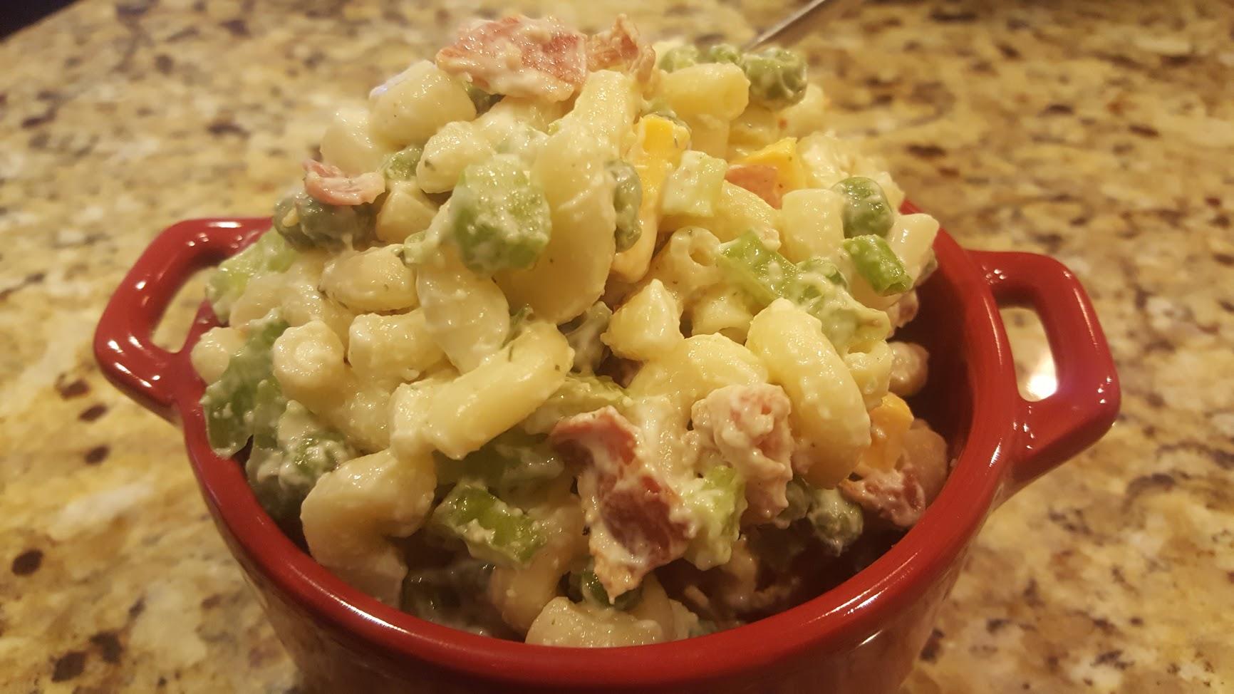 Loaded Macaroni Salad